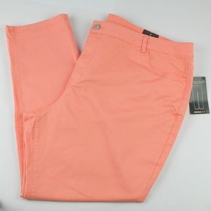 NWT Avenue Coral Twill Ankle Stretch Pant, Size 26